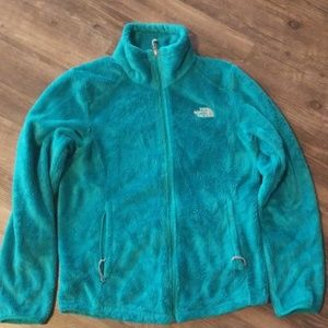 Teal North Face size small jacket